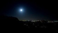 Supermoon Over Los Angeles